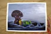 cool still life painting