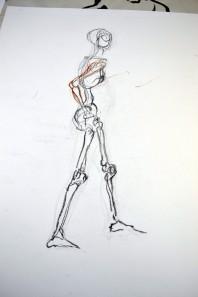 skeletal gesture