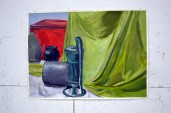 still life with paint