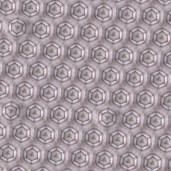 Les Fleurs du mal - Wallpaper Teeth, digital collage, 26 x 34 inches, 2014