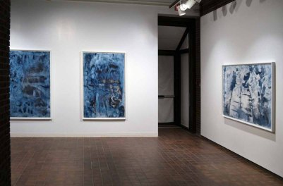Installation view from Emergence (solo exhibition) at FAB Gallery