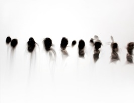 Singe, smoke on prepared board, 16 x 20 inches, 2010