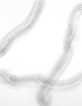 Hand Trace, graphite on paper, 30 x 40 inches, 2012